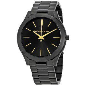 Michael Kors Runway Black Stainless Steel Watch
